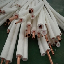 Thick wall copper line set insulate copper tube