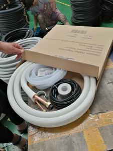 air conditioner connection pipe with insulation